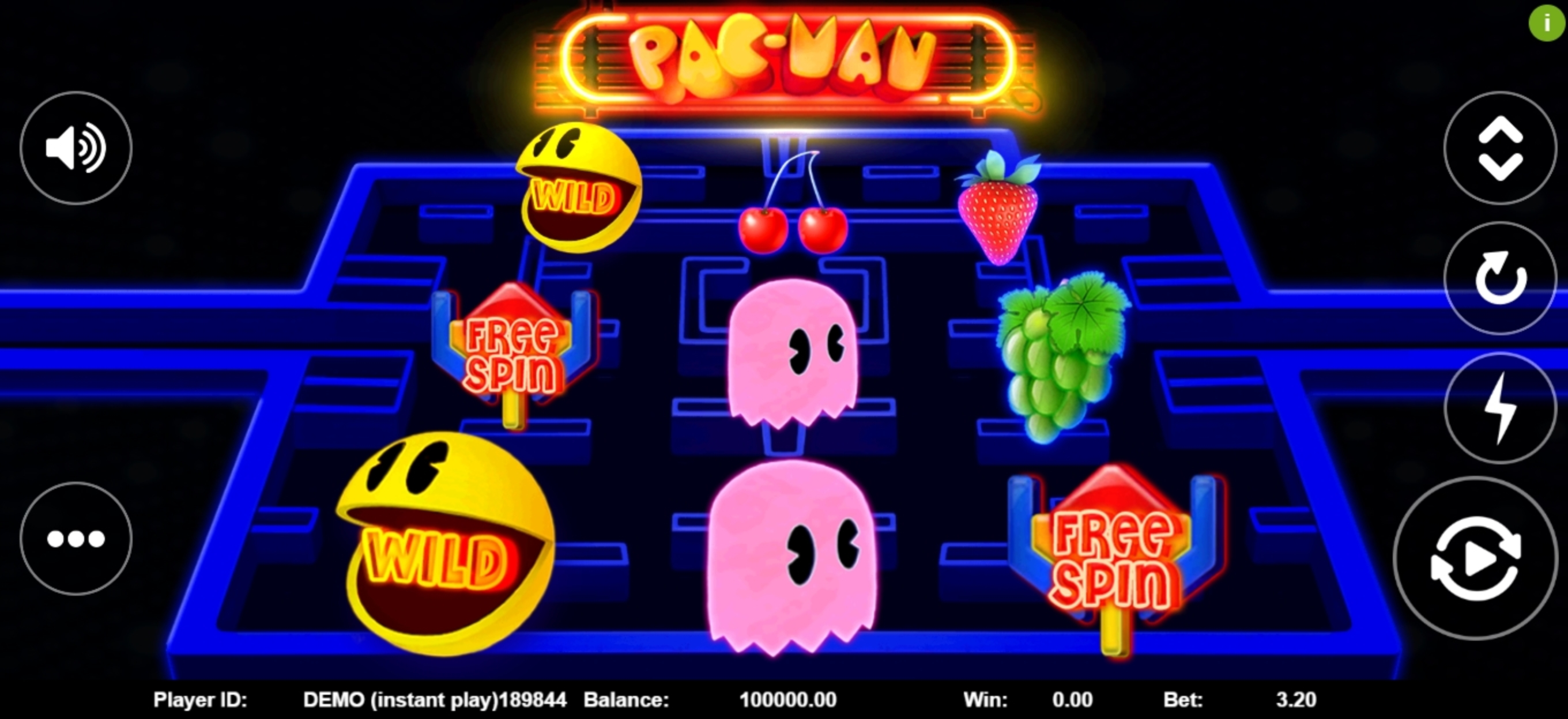 Reels in Pac-man (Triple Profits Games) Slot Game by Triple Profits Games